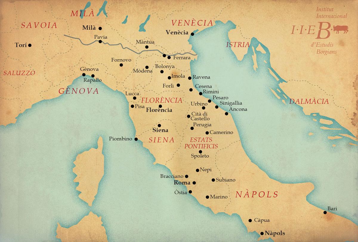 Itàlia el 1494.