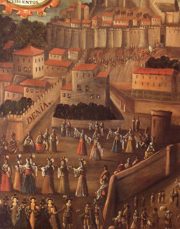 Expulsió dels moriscs a Dénia.