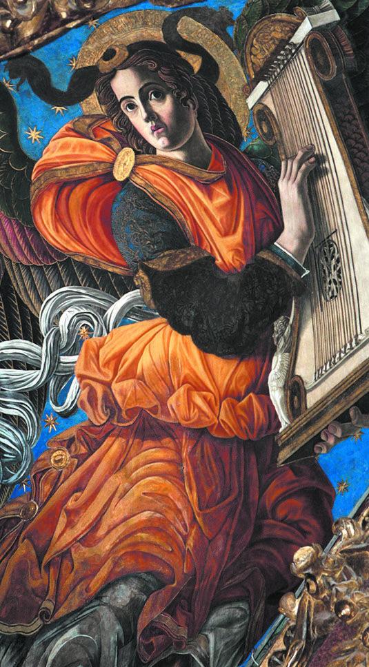 Àngels músics de la catedral de València.