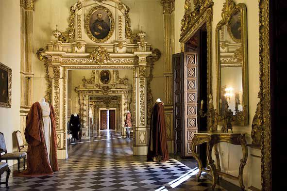 Galeria daurada. Gandia, palau ducal. Foto: Natxo Francés.