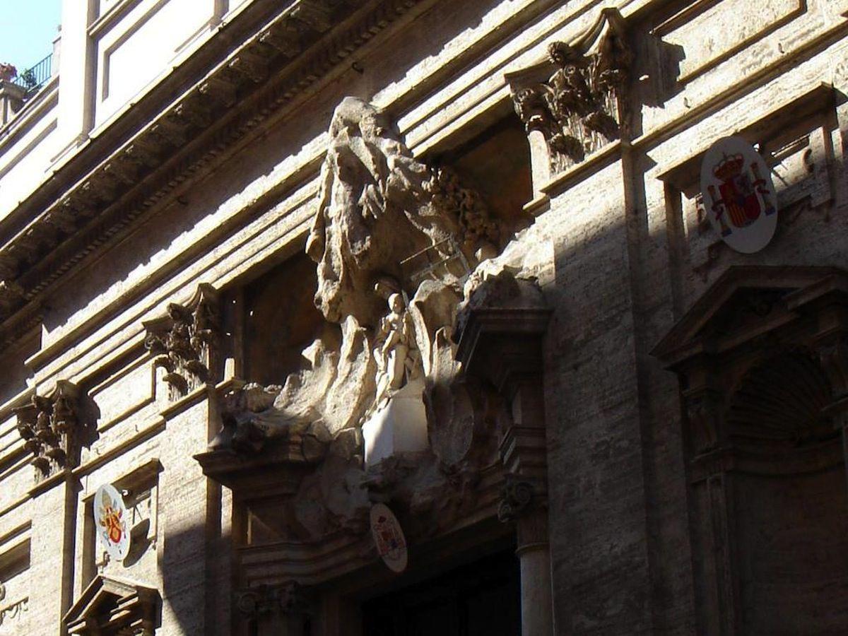 Santa Maria in Monserrato.