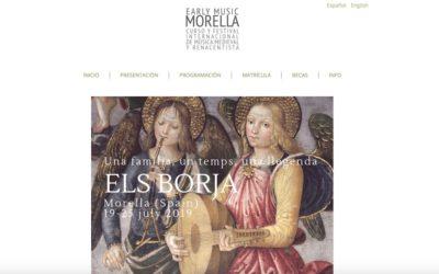 "Els Borja a ""Early Music Morella"" 2019"