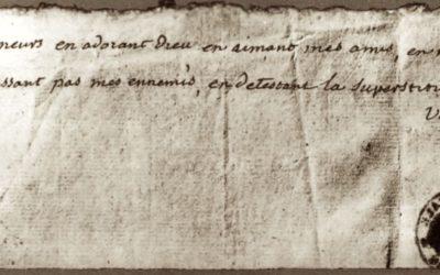 Uns Borja en la ploma de Voltaire?